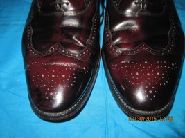 Johnston & Murphy, Leather cordovan color. 13 D - $39.00