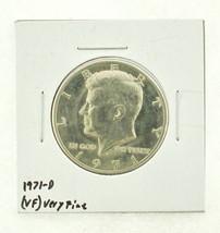 1971-D Kennedy Half Dollar (VF) Very Fine N2-3450-1 - $0.99