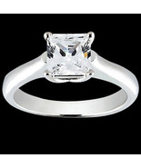 Princess cut 1 ct diamond solitaire engagement ... - $1,571.70