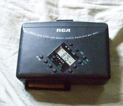 RCA RP-1875A Portable AM FM Cassette Player image 1