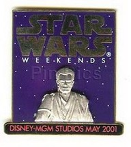 Obi-Wan Kenobi MGM Star Wars Weekend  Disney no backer card Pin - $28.87