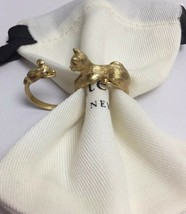 Kate Spade New York House Cat And Mouse Ring Size 7 w/ KS Dust Bag New - $39.99
