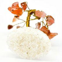 Polished Carnelian Gemstone Miniature Gem Tree Mini Gemtree image 4