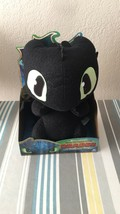 Dreamworks Dragons Squeeze & Growl Toothless 10-Inch Plush Dragon with Sounds... - $18.61