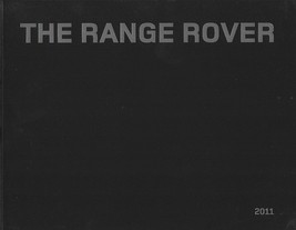 2011 Land Rover RANGE ROVER sales brochure catalog US 11 Supercharged - $12.00