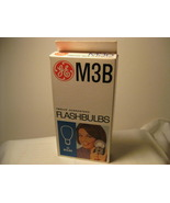 Flashbulbs - GE M3B Blue Flashbulbs - 11 Bulbs - $15.00