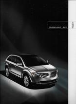 2011 Lincoln MKX sales brochure catalog US 11 Aviator - $8.00