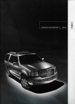 2011 Lincoln NAVIGATOR sales brochure catalog US 11 L - $10.00