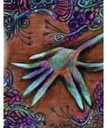 originial ACEO drawing ocean starfish zentangle design - $9.99