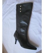 PREDICTIONS Gray  Pointy Toe High Heel Knee High Boots Shoes 8.5 NEW - $49.49