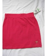 Guess Girls Red Cotton Little Skirt Size 14 NWT - $19.79