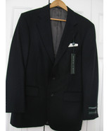 Oscar De La Renta Blue Cashmere Blend Mens Jacket Blazer Size 40R NWT $250 - $88.11