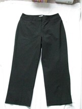 Chico's Women Black  Crop Capri Pants SZ 0 - $24.74