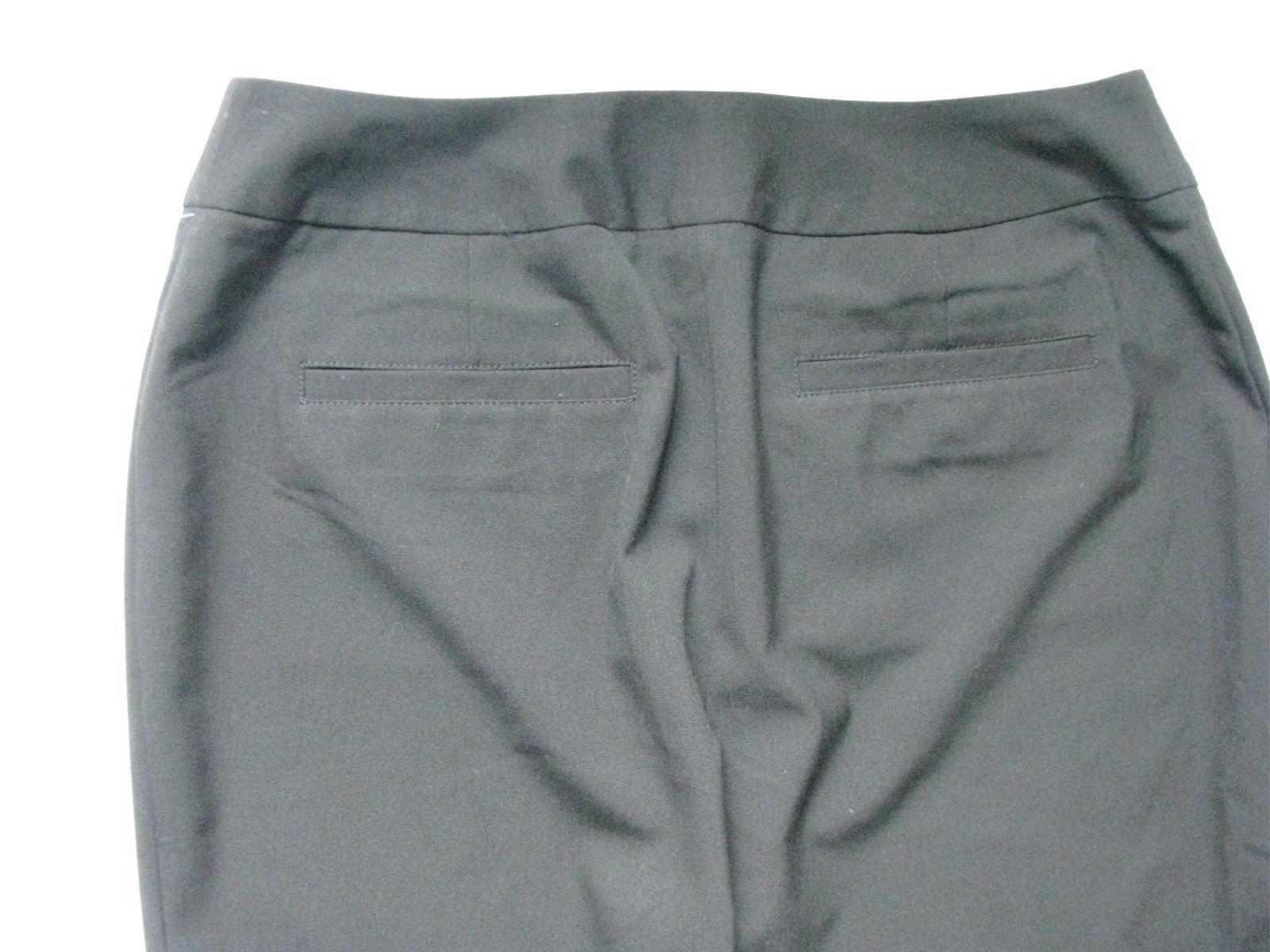 Chico's Women Black  Crop Capri Pants SZ 0