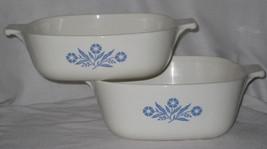 Corning Ware Blue Cornflower 1 & 1.5 Quart Casserole Dish Only - $50.00