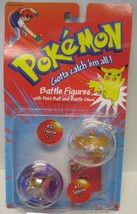 Pokemon Battle Figures Poke' Ball and Battle Discs - #21 Spearow and #22... - $60.00