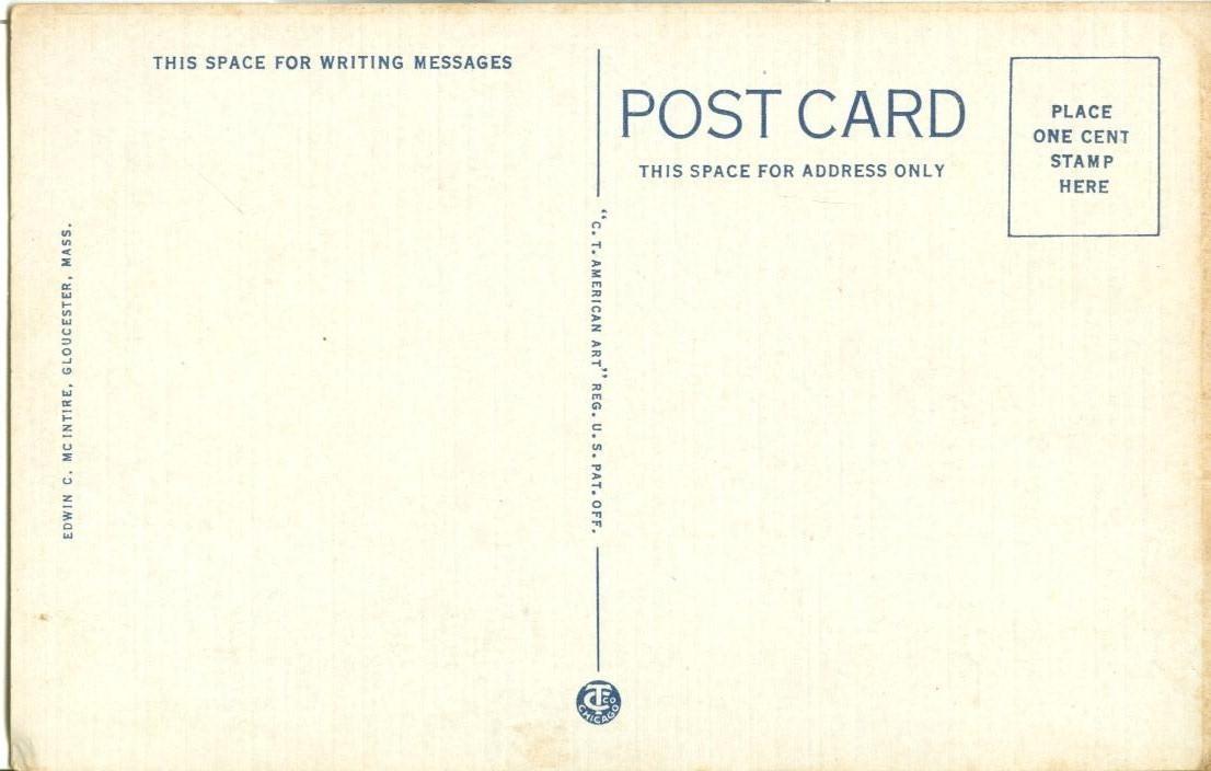 Drying Fish, Gloucester, Mass, unused Postcard