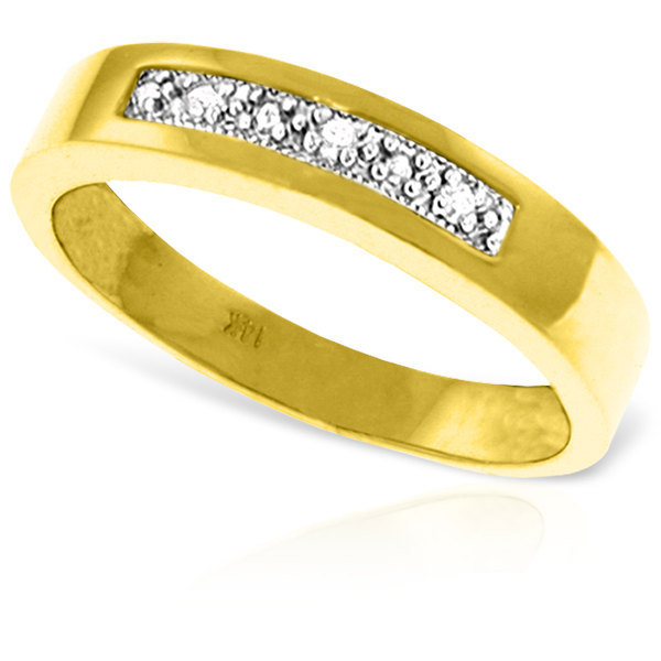 0.02 Ct 14k Solid Gold Rings Natural Diamond (Yellow, White Gold, Rose Gold )