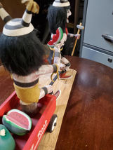 Navajo Kachina Double Watermelon Clown Kachina Handcrafted and Signed on base image 12