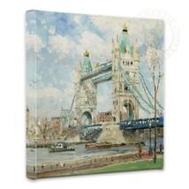 Thomas Kinkade Tower Bridge London 14 x 14 Gallery Wrapped Canvas - $89.00