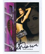 Dr. Amie Nicole Harwick 2012 Benchwarmers Vault Certified Autograph Card - $55.98