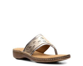 Natural Soul by Naturalizer Chutney womens Beige Thong sandals shoes 9 M - $45.99