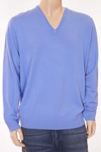 Polo Golf Ralph Lauren Men's Light Blue Merino Wool V Neck Pullover Swea... - $69.99