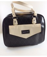 Mary Kay Consultant Large Black & Ivory Tote Bag with Organizer Caddy & ... - $37.06