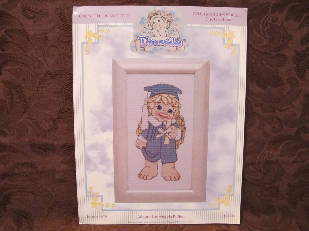 DREAMSICLES Counted CROSS STITCH Patterns THE GRADUATE