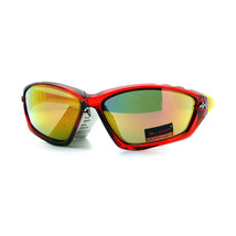 Xloop Sports Sunglasses Oval Wrap Around Unisex Frame Rubber Nose - $8.95+