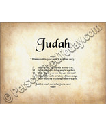 Judah Hidden Within Your Name Is A Special Stor... - $8.95