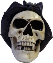 "Gerson 11.5"" Resin Skull & Bat with Light & Sound Halloween Decoration - $55.99"