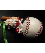 Avon Gift Collection Christmas Ornament 1996 Santa Sports Baseball Origi... - $6.99