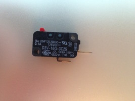 Microwave Oven Normal Open Switch OEM 16A NO V-16G-3C25 - $4.20
