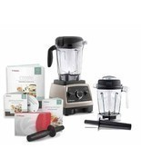 Vitamix Professional Series 750 Brushed Stainless Steel Blender With 64 ... - $609.99