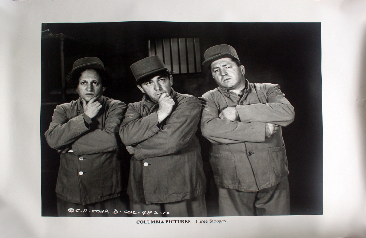 Primary image for Three Stooges Original Poster Columbia Pictures Archives