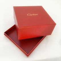 Genuine Cartier Presentation Love Bracelet Outer Red Box VERY QUICK SHIP... - $43.00