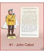 Famous Canadians John Cabot With Information Card - $19.50