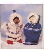 CABBAGE PATCH DOLL Clothing Clothes Knitting Patterns PARKA OUTFIT BUNTI... - $6.95
