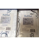 0718122593569. Two King Pillowcases, One His, One Hers, 100% Cotton Sateen  - $21.00