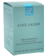 Estee Lauder New Dimension Firm + Fill Eye System - .34 OZ - $10.29