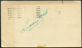 EDDIE JOOST SIGNED 1948 GOV'T POSTCARD A'S BRAVES RED SOX REDS 1940 WS C... - $13.85