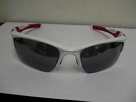 Oakley sunglasses flak jacket 2.0 red white frame black lenses MLBP 2014 - $123.70