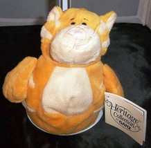 Yellow Cat Fat Belly Heritage Collection GANZ BELLIES H5223 w/ Tags - $15.83