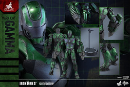 HOT TOYS Exclusive Iron Man 3 MMS332 Gamma (Mark XXVI) MK 26 1/6 Figure NIB - $548.94