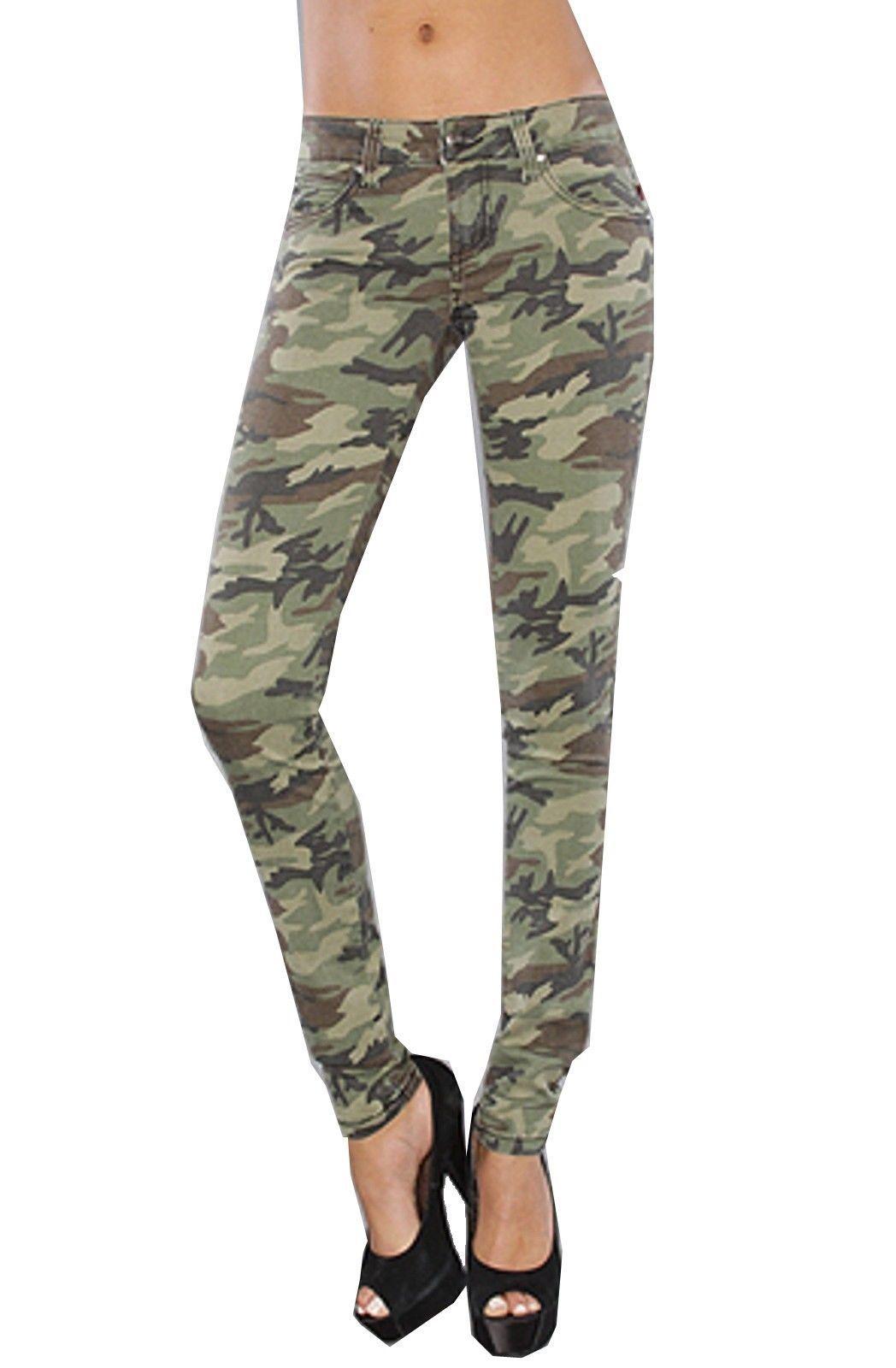 Tripp NYC camouflage Camo Military Skinny Jeans pants