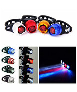 4xBike Bicycle Cycling Front Rear Tail Helmet Flash Light Safety Warning... - $9.41