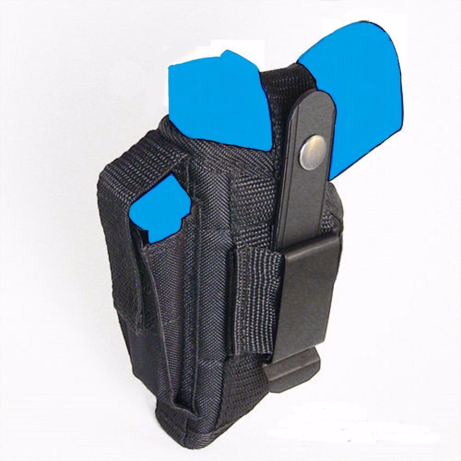 This walther p22 holster is an inside the waistband (iwb), right hand shooter holster
