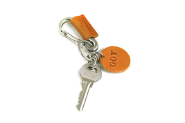 Leather Custom Keychain - $13.99