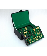 """Chess Set Storage Box with Double Tray Fixed Slots for 4"""" - 4.25"""" Pieces... - $208.99"""